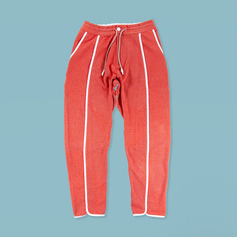BYBORRE ss19 the hybrid edition pants d4 red white front