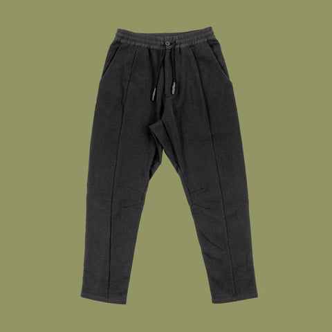 BYBORRE pants d1 ss19 the hybrid edition pant black front