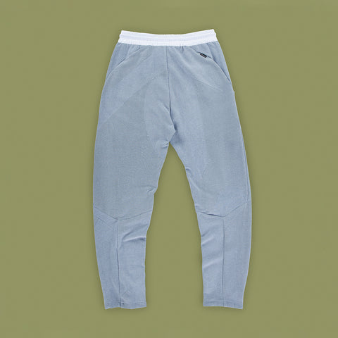 BYBORRE pants d1 dusty blue white ss19 the hybrid edition back