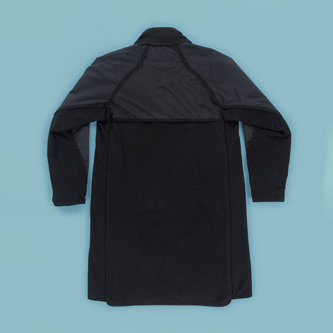 BYBORRE parka hp2 ss19 the hybrid edition gore-tex black back