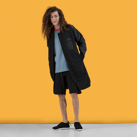 BYBORRE parka hp2 ss19 the hybrid edition gore-tex black on body on-body