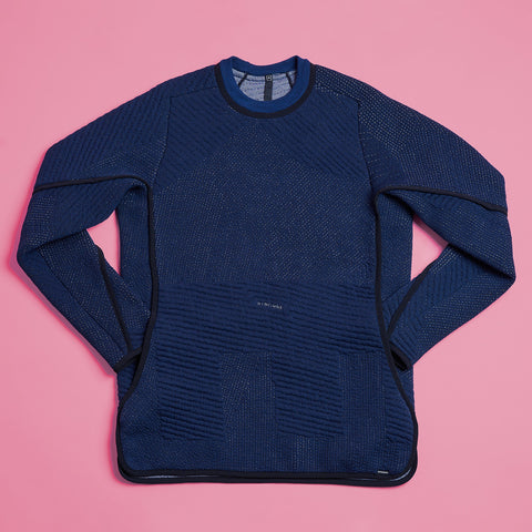 byborre sweater aw18 c4 blue front