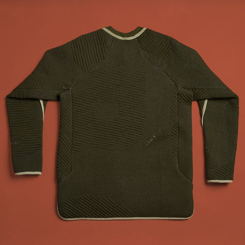 byborre sweater aw18 c4 olive back