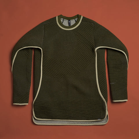 byborre sweater aw18 c4 olive front