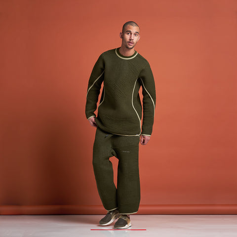 byborre sweater aw18 c4 olive on body