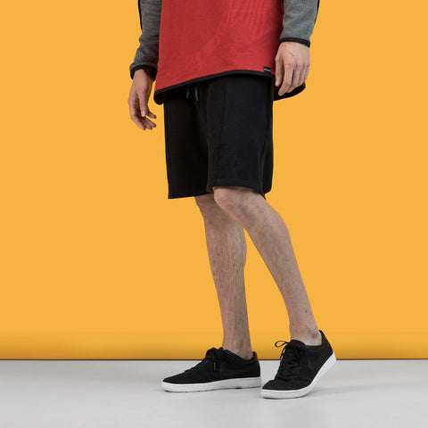 BYBORRE k1 short pants k1 ss19 the hybrid edition black on body on-body