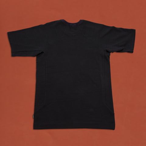 byborre t-shirt aw18 e5 black back