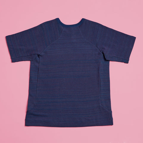 byborre t-shirt aw18 e5 blue back