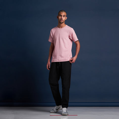 byborre t-shirt aw18 e5 pink on body on-body