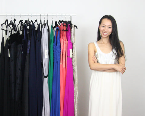 Flaunt Fashion Library founder Kim Luu