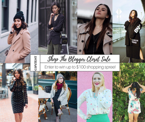 Shop The Blogger Closet Sale