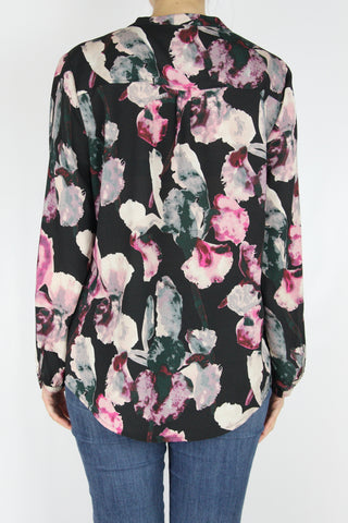 WATERCOLOR FLORALS TOP