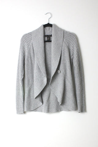 SHAWL COLLAR WRAP CARDIGAN