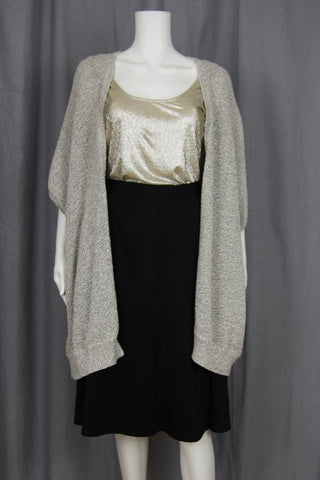 OVERSIZED COCOON KNIT CARDIGAN