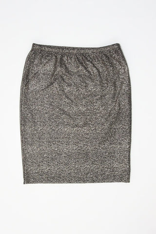 GOLD SPECK KNIT SKIRT