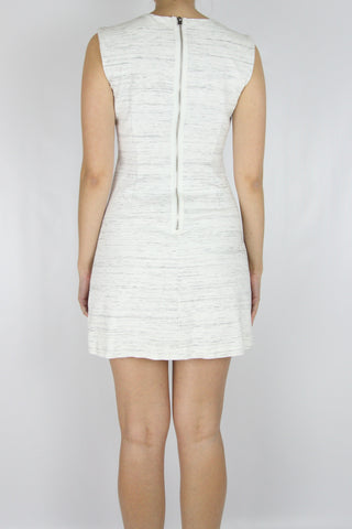 SHIFT DRESS WITH ZIPPER POCKETS