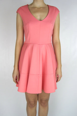 CAP SLEEVE SKATER DRESS