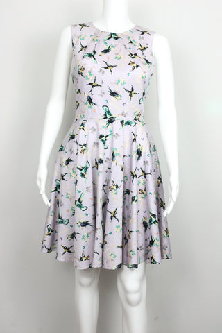 BIRDS & BUTTERFLY DRESS