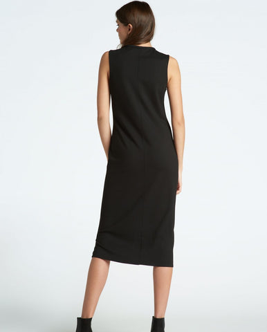 Sleeveless Maxi Body-Con Dress