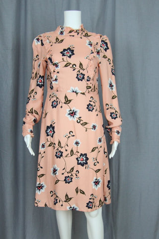 LONG SLEEVE FLORAL DRESS (TALL)