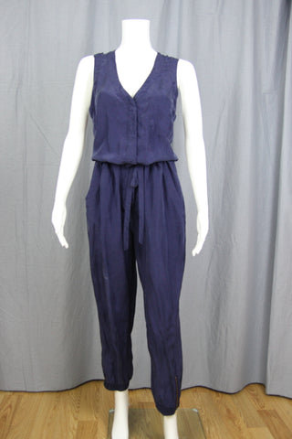 WASHED SILK JUMPSUIT