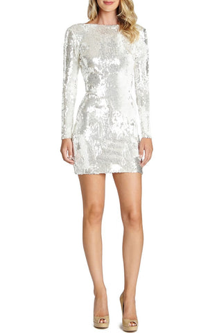 SEQUIN MINI DRESS