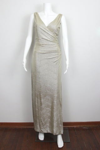 GOLD SURPLICE GOWN