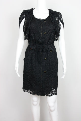LACE MILITARY DRESS