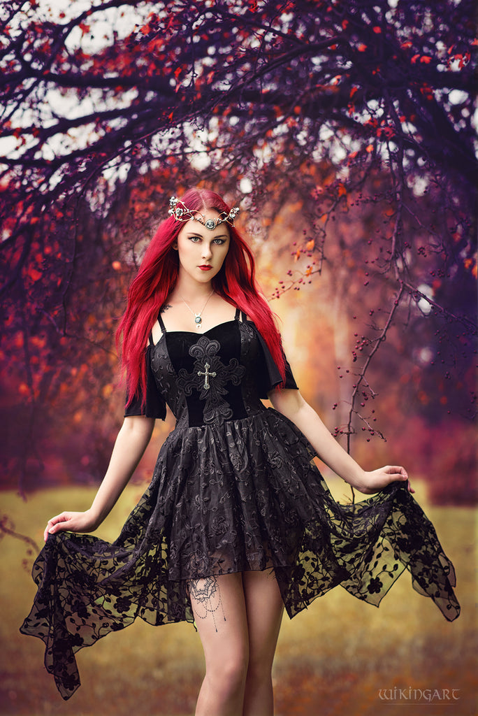New gothllolibeauty photo of DW063 Gothique elegant dead souls cross dress with side long designs by Katarzyna Revena,Click to see more