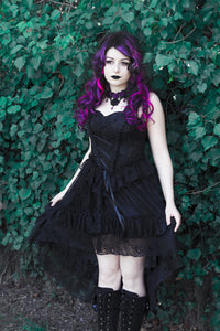 New gothlolibeauty photo of DW198 long gothic skirt wear by Anomaly,click to see more
