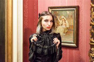 New gothlolibeauty photo of  IW066 gothic Sweet Victorian  blouse wear by Eleanore