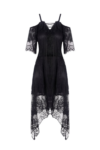 gothic lace dress by DARK IN LOVE