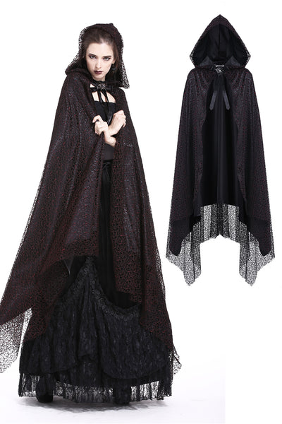 BW052 Gothic long cape