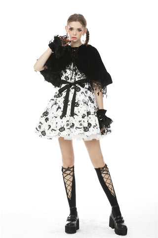 Lolita night cat star cape BW086