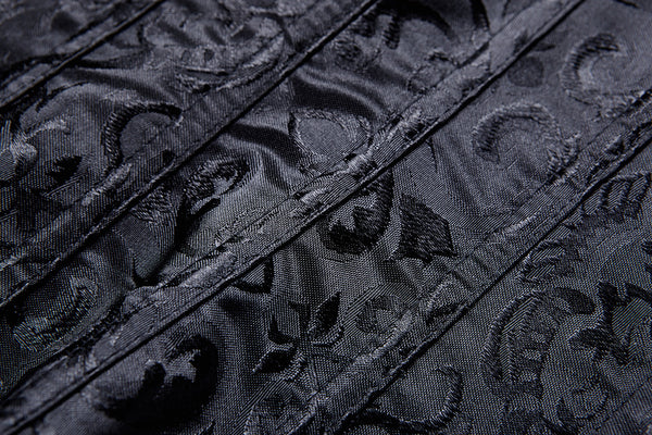 CW024 Gothic lolita five buttons corset