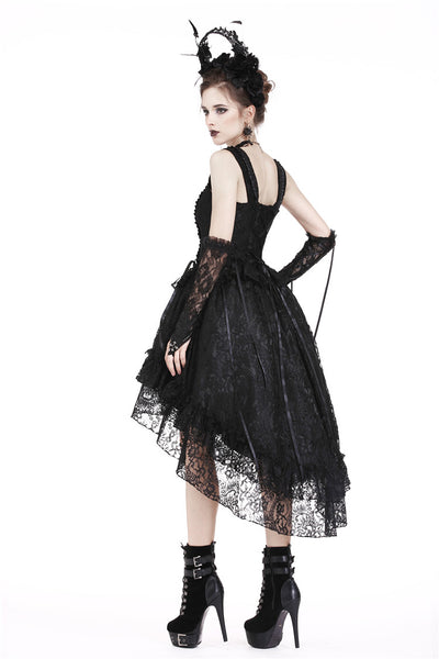 DW198 Gothic lolita lace cocktail dress (no petticoat incl.)