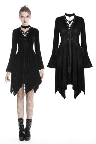 Punk rock alternative street dress DW320 - Gothlolibeauty