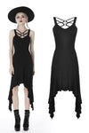 custom made link of Punk non-sleeves side long dress DW402 - Gothlolibeauty