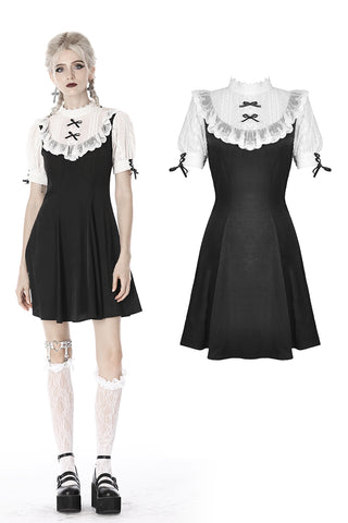 Gothic lolita doll midi dress DW405 - Gothlolibeauty