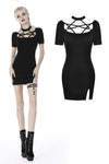 Punk bandage chest tight dress DW406 - Gothlolibeauty