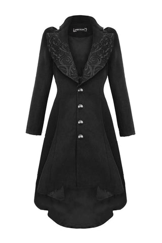 Gothic lady warn double-faced woolen cocktail robe jacket JW100 - Gothlolibeauty