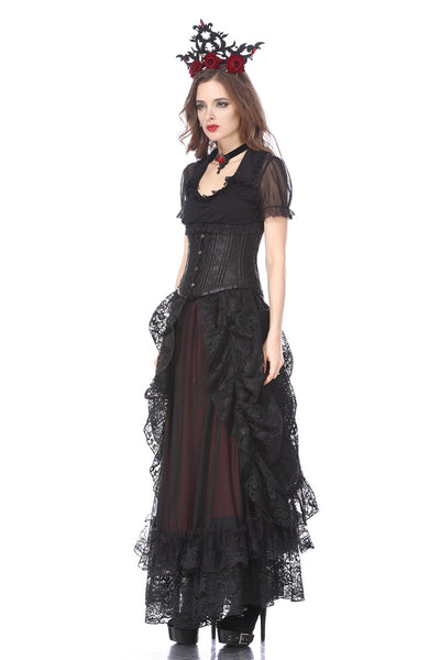 KW123RD Gothic eleglant court skirt (price no incl. petticoat)