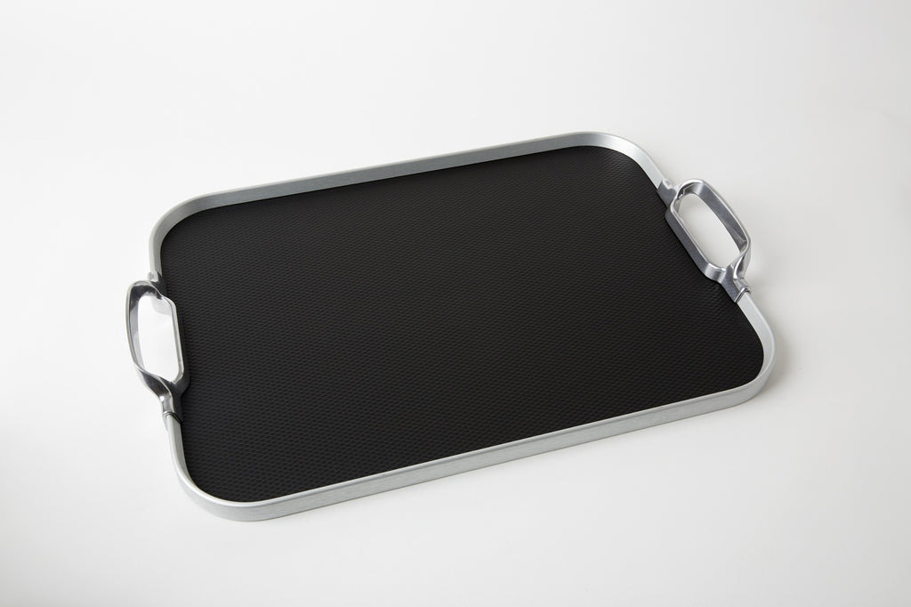 Original Tray, 2018 Rubber Grip, Silver + Black