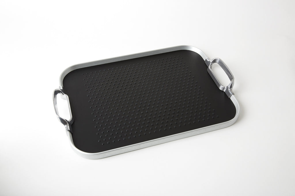 Original Tray, 2016 Rubber Grip, Silver + Black