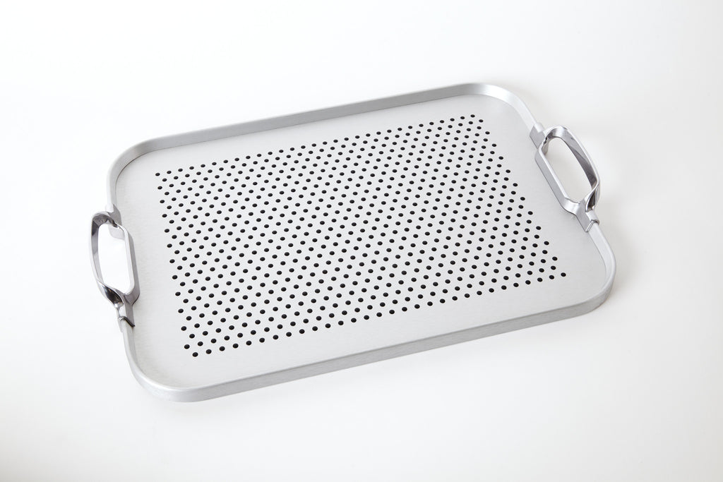 Original Tray, 2018 Rubber Grip, Silver
