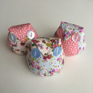 Owl Pincushion Kit (Floral)
