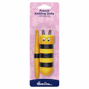 Bee Knitting Dolly