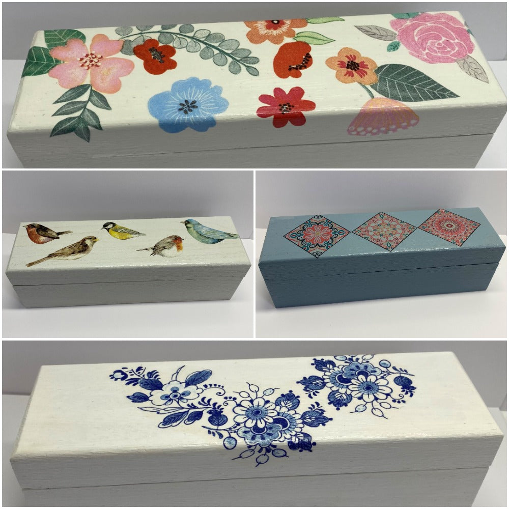 Decorative Embroidery Thread Box