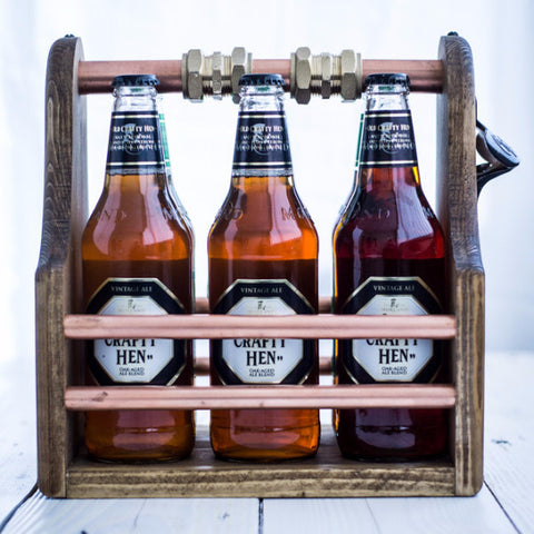 Beer/Ale Crate (Copper Themed) - Urban Forged