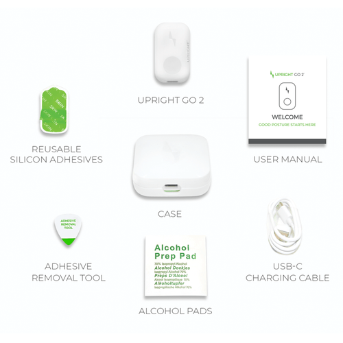 UPRIGHT GO 2 with supplied accessories
